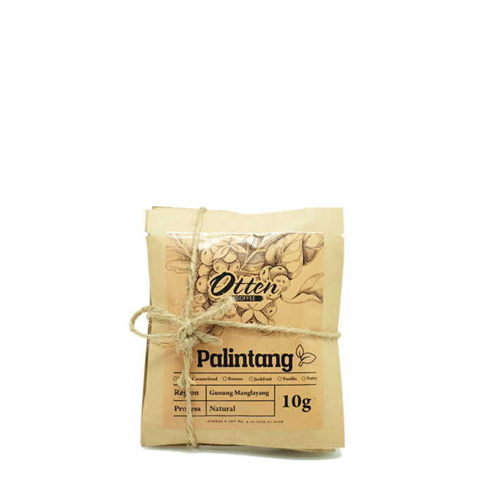 Drip Coffee 10g Arabica Palintang Natural Process (4 Sachet)