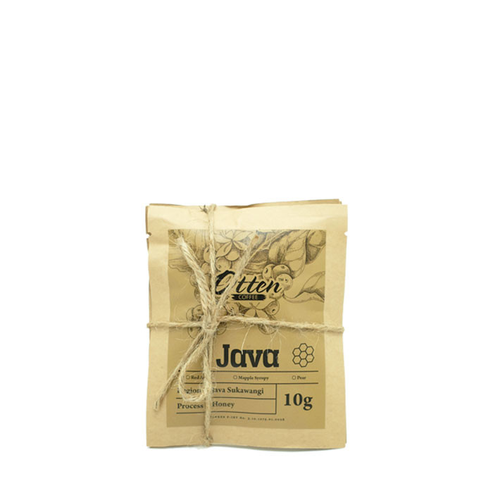 Drip Coffee 10g Arabica Java Sukawangi Honey Process (4 Sachet)