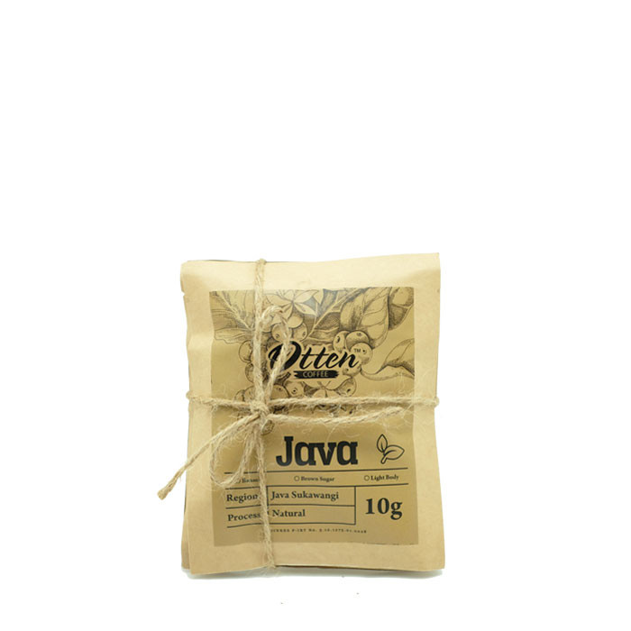 Drip Coffee 10g Arabica Java Sukawangi Natural Process (4 Sachet)