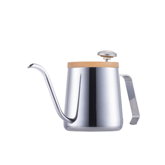 A-IDIO - Stylish Temperature Kettle 350ml (Mirror Silver)