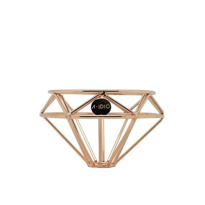 A-IDIO - Diamond Coffee Dripper (Rose Gold)
