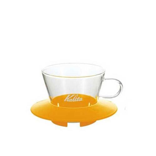 Kalita Wave Glass Dripper 155 (Yellow)
