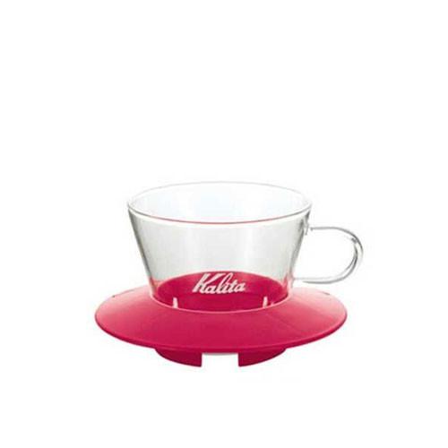 Kalita Wave Glass Dripper 155 (Pink)