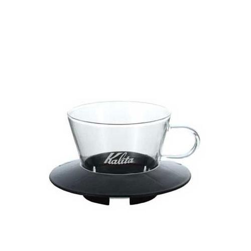 Kalita Wave Glass Dripper 155 (Black)