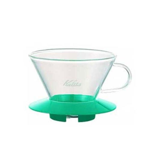 Kalita Wave Glass Dripper 185 (Green)