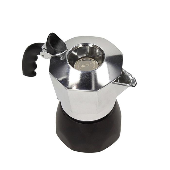 Bialetti - Brikka Black 4 Cups