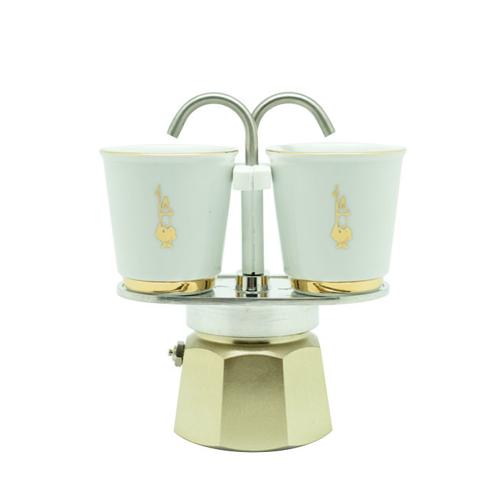 Bialetti - Mini Express Set Gold (2 Cups)