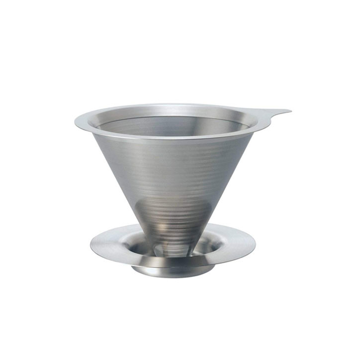 Hario - Double Mesh Metal Dripper DMD-01HSV