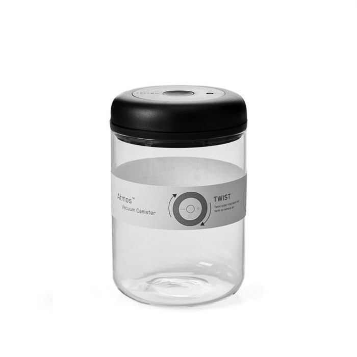 Fellow - Atmos Vacuum Canister 1.2L (Clear Glass)