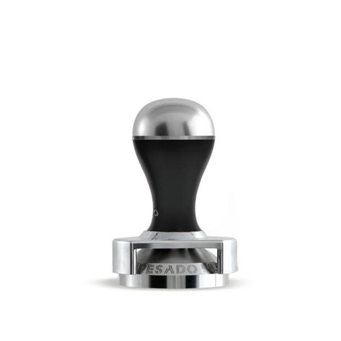 Pesado - Tamper 58.5mm with Depth Adjuster (Black and Silver Modular)