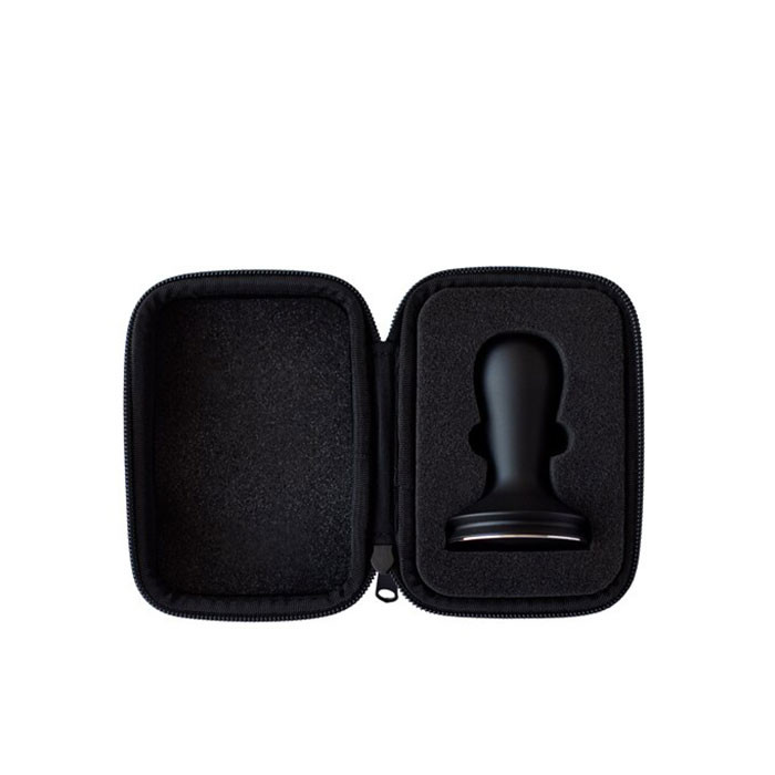 Barista Hustle - Black Aluminium Tamper 58.5mm with Case