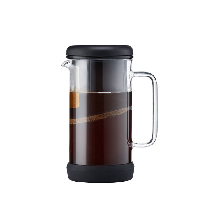 Barista & Co - OneBrew Coffee and Tea Infuser (Black)