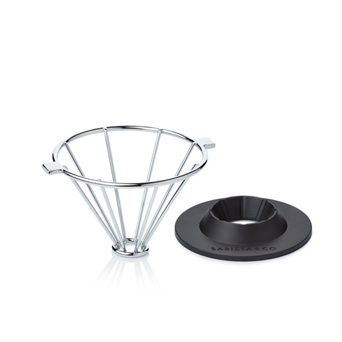 Barista & Co - Corral Pour Over Coffee Maker (Steel)