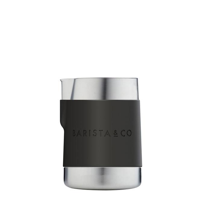 Barista & Co - Shorty Stainless Steel Professional Milk Jug 600ml (Steel)