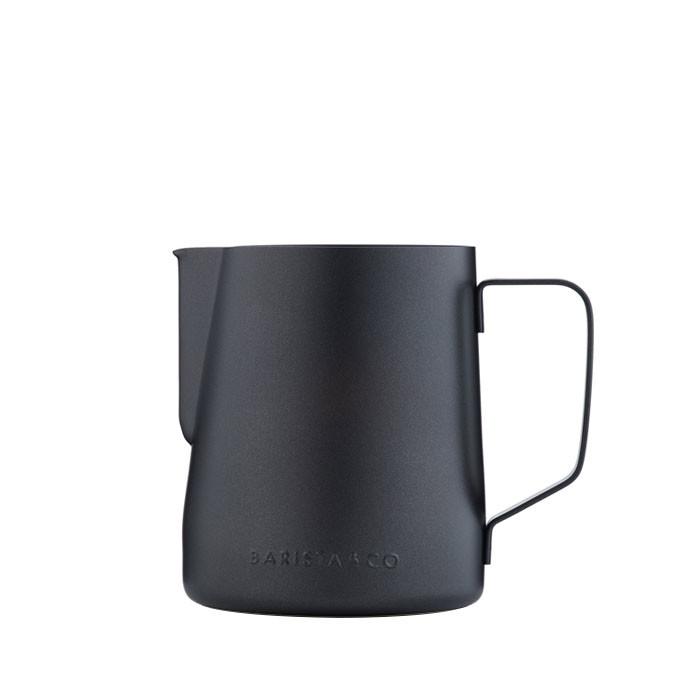 Barista & Co - Core Stainless Steel Milk Jug 600ml (Black Non-Stick)