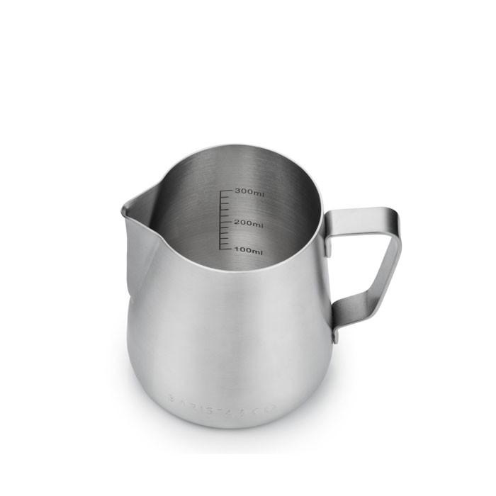 Barista & Co - Core Stainless Steel Milk Jug 420ml (Black Non-Stick)