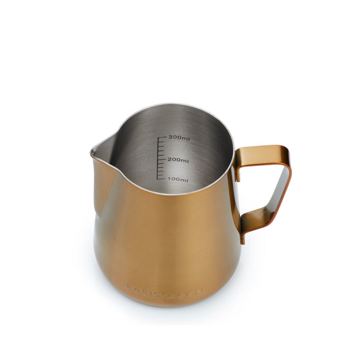 Barista & Co - Core Stainless Steel Milk Jug 420ml (Gold)