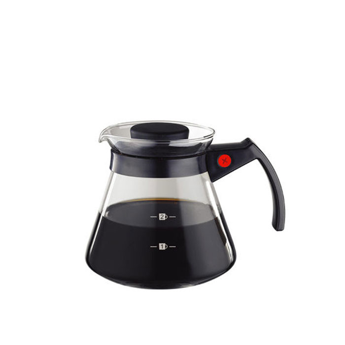 Tiamo - Coffee Server 300cc Black (HG2335)