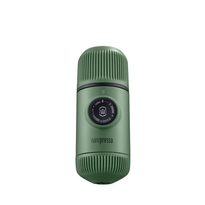 Nanopresso - Espresso Maker with Case (Moss Green)