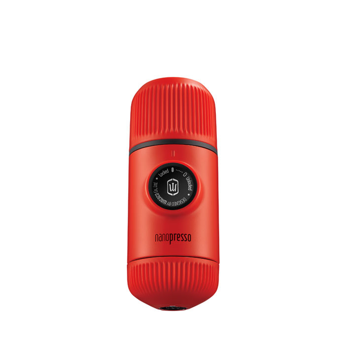 Nanopresso - Espresso Maker with Case (Lava Red)