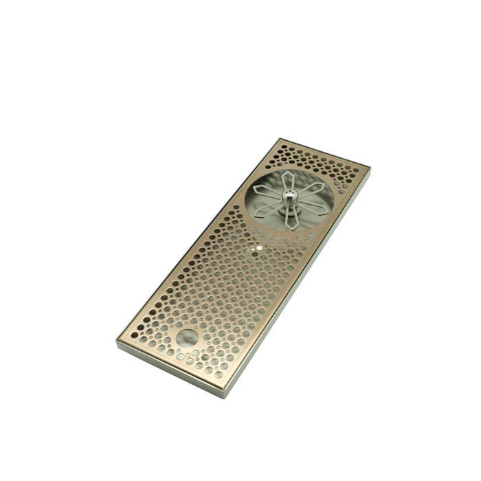 DTCUSTOMS - Jug Rinser Slim Flat Medium 39.5cm Copper