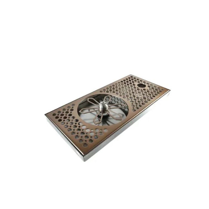 DTCUSTOMS - Jug Rinser Slim Flat Short 30cm Copper