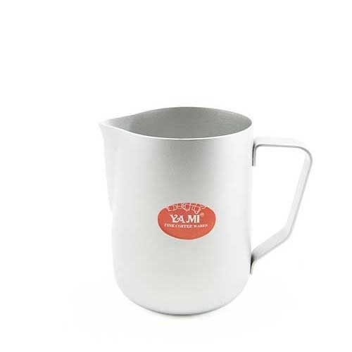 Yami Teflon Milk Jug 600 ml Silver (YM16883)