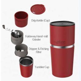 Cafflano - Klassic Coffee Maker Red