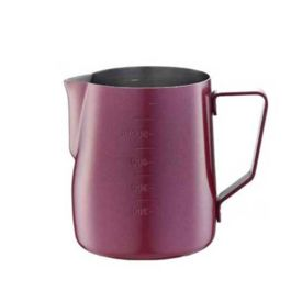 Tiamo Milk Pitcher Red 600ml with Scale (HC7087RD)