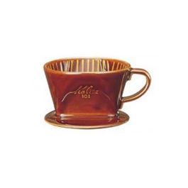 Kalita 101 Ceramic Dripper Brown