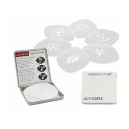 Aerolatte Coffee Stencils 6 Set
