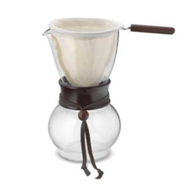 Hario Drip Pot Wood Neck DPW-3