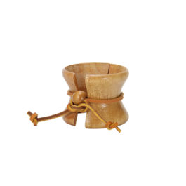 Chemex Wood Collar & Tie for Chemex 6 Cups