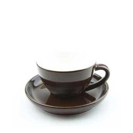 250ml Yami Porcelain Cup - Brown (YM2064)