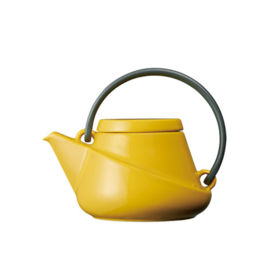 Kinto - Ridge Teapot 450ml Yellow (23562)