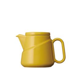 Kinto - Ridge Teabag Teapot Yellow (23575)