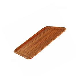 Kinto - Non Slip Rectangular Tray Teak 430mm (45154)