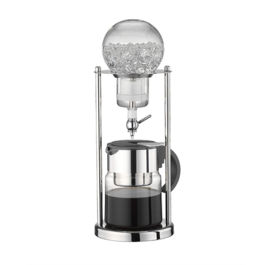 Tiamo Water Drip Coffee Maker Steel 5 Cups (HG2604)