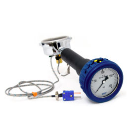 Portafilter Scace 2 with Pressure Test Gauge and Temperature Probe