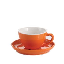 250ml Yami Porcelain Cup - Orange (YM2068)