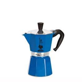 Bialetti Moka Color Blue 6 Cups