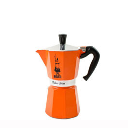 Bialetti Moka Color Orange 6 Cups