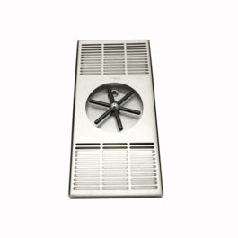 Krome - Center Spray Glass Rinser Tray (C466)