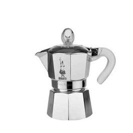 Bialetti Moka Glossy Alluminio 3 Cups