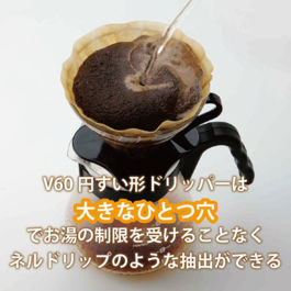 Hario Dripper V60 Glass Black VDG-01B