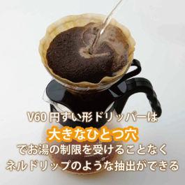 Hario Dripper V60 Glass Black VDG-02B