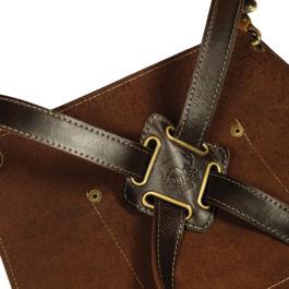 Apron Leather Dark Brown