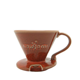 Yami - V02 Porcelain Dripper (Orange)