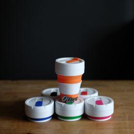 Stojo - Pocket Cup 12oz (Green)