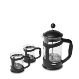 Bialetti - Coffee Press 800ml Set (Black)